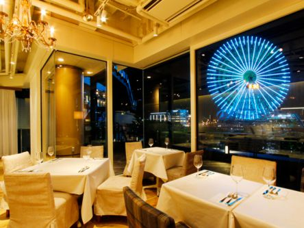横浜で彼とロマンティックな夜を。大観覧車が間近に迫る憧れのレストラン