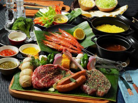 空・海・緑に囲まれた葛西臨海公園に贅沢食材で楽しむ本格プレミアムBBQがオープン