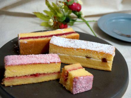 食べると想像が覆る!?ふわふわ「米粉のジャムサンドケーキ」
