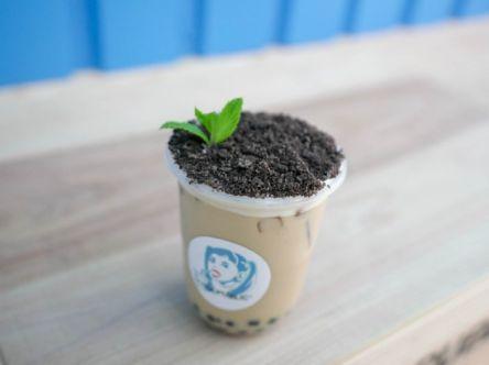 植木鉢みたいな「盆栽ミルクティー」!?広島・タピオカ専門店の進化系ドリンク