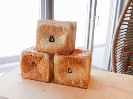 キューブ型のフォルムにきゅん。5種類の味が楽しめる広島の食パン専門店
