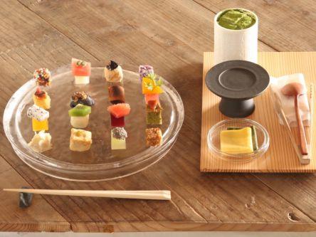 """京都の人気和食店から生まれた甘味処。自分で仕上げる""""手織り果子""""が素敵!"""