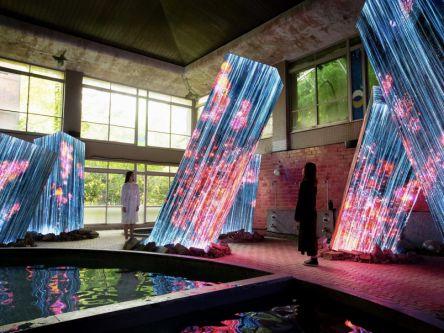 廃墟と遺跡?!チームラボ過去最大級の展覧会に世界初公開の大型新作が登場
