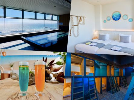 4000円台で泊まれる!?感動する景色が広がる都心から1時間の海辺のホテル