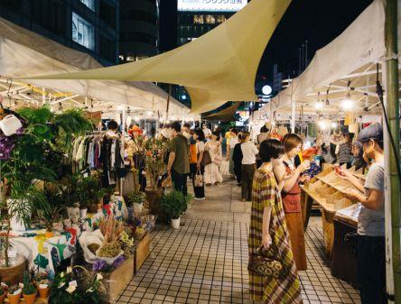 2日間限定、青山ファーマーズマーケット10周年記念イベントを開催!20時までお買い物できるナイトマーケットも