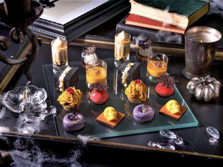 シャンパンを使ったスイーツも!コンラッド東京の『オトナハロウィン・アフタヌーンティー』