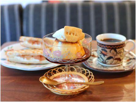 のんびり1人時間におすすめ!レトロでかわいい喫茶店の絶品プリン&コーヒー