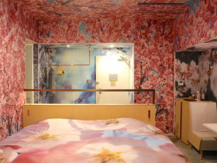 京都ステイは満開の桜のお部屋で。アーティストコラボの客室が気になる!