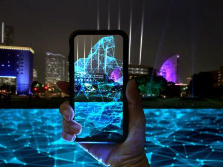 横浜の最新イルミはスマホで参加できる! Web ARのミラーワールドを体験しよう