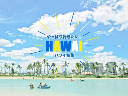 やっぱり行きたい!ハワイ特集