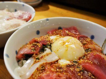 渋谷でお得に1000円ランチ!とろとろの温泉卵が最高な絶品海鮮丼