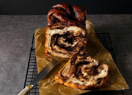 """ニューヨークで流行の""""バブカ""""を取り入れた#バブカな食パンを、期間限定販売!"""