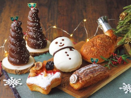 """ツリーコロネに雪だるま…""""お家クリスマス""""を彩るパンがクイーンズ伊勢丹に勢ぞろい!"""