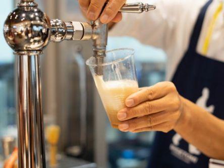 あの「もみじ饅頭」とビールがコラボ⁉️ 広島にある大人気ビールスタンドの限定メニュー