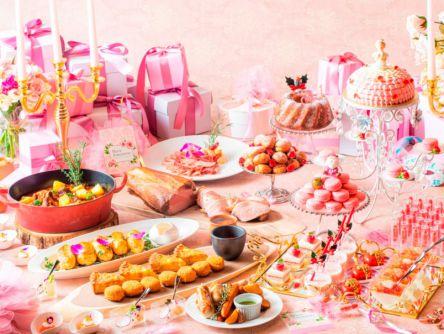 クリスマス限定!プリンセスなりきりブッフェイベント「マリー・アントワネットの仮面舞踏会」はピンクガーリー