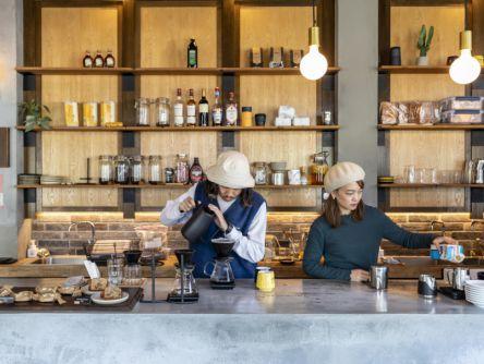 京都カフェ巡り。工場跡をリノベーションしたアメリカンヴィンテージcafeで至福の一杯