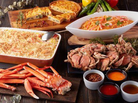 冬の味覚「カニ」食べ放題!お台場のホテルブッフェ「蟹フェア」を食べつくせ