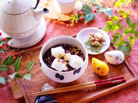 """ほっと一息♪お正月のおもてなしに""""ぜんざい""""はいかが?【kyoko_plusのレシピ&テーブルコーデvol.16】"""