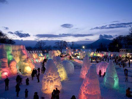 七色に輝く氷の絶景にうっとり!千歳タウンから支笏湖へドライブプラン