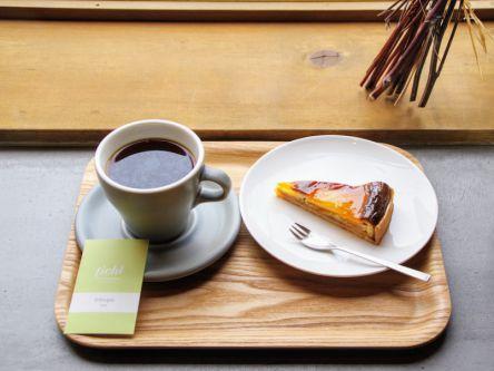 熊本駅前の実力派カフェで、上質なコーヒー&ケーキに舌つづみ