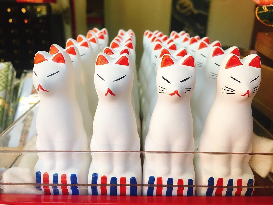 ©神社・御朱印メモ 願掛け狐:一体700円