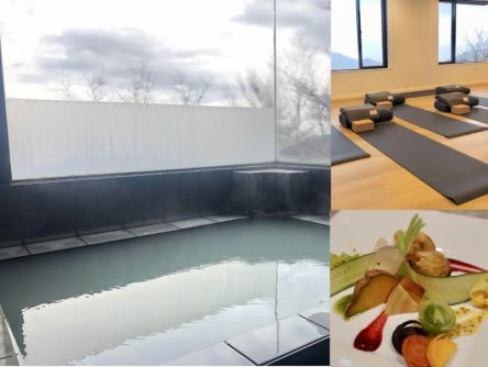 """1泊2食付きで1万5000円~!箱根に""""食""""や""""ヨガ""""で健康を意識した全7室のホテルがオープン"""