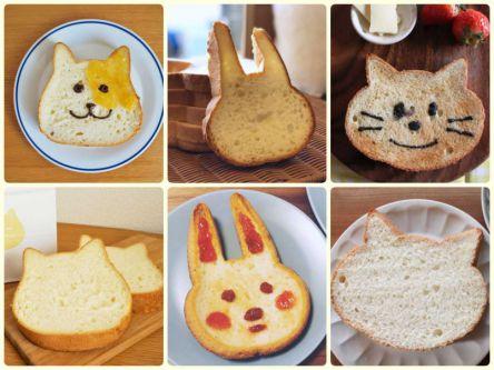 動物型が超キュート!しっとりもちもちな高級食パン3選