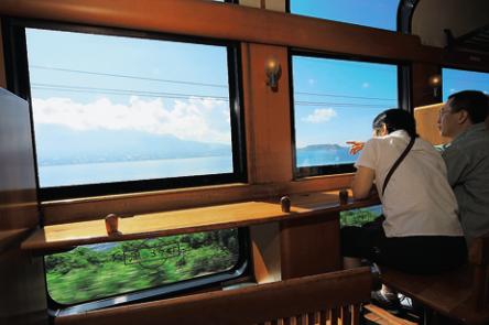 「はやとの風」&「いさぶろう・しんぺい号」も大人気!観光列車で鹿児島の自然を楽しもう!