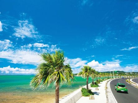 国道58号線を爽快ドライブ!沖縄本島の西海岸リゾート・万座の絶景&グルメ満喫