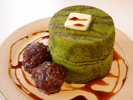 京都のあんこ屋さん特製!米粉のふわふわスフレパンケーキ
