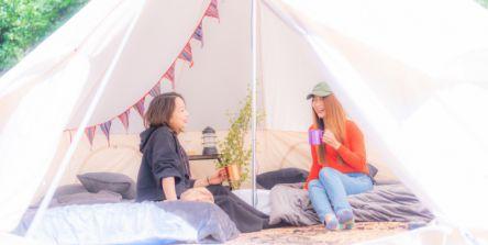 ソーシャルディスタンス宣言!音楽とキャンプが楽しめる「フェスキャンプ場」がオープン
