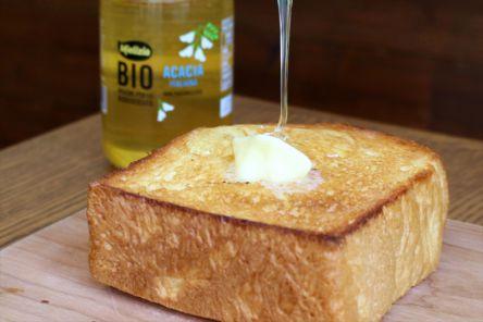 """サクサクもっちもち!モーニングで食べたい食パン専門店の""""贅沢""""厚切りバタートースト"""