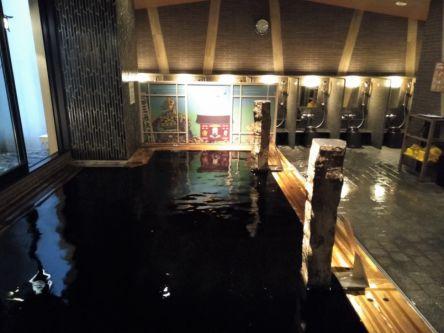 東京で温泉旅行!浅草でエスプレッソのように黒い天然温泉を楽しめる和風ホテル