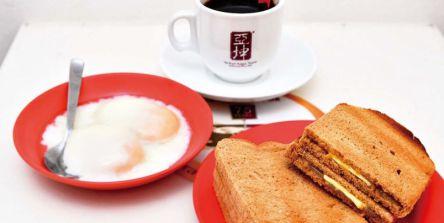 """伝統の""""コピティアム""""でシンガポールのローカル朝食を堪能!"""