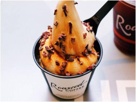 渋谷駅から徒歩10分!濃厚なコーヒーの香りがたまらない「絶品ソフトクリーム」【テラス席アリ】