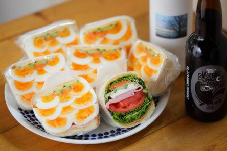 ピクニックのおともにも♪名古屋で見つけた、アートな萌え断サンド