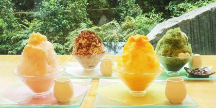 夏の定番!「抹茶」「マンゴー」「ピーチ」「ティラミス」本格フレーバーのホテルかき氷