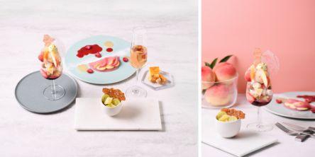 完全予約制!銀座フルーツフルコース専門店のとろける桃の贅沢フルコース