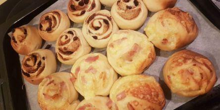 NZ流朝ごはん♪ホームベーカリーで作る絶品「シナモンロール」レシピ