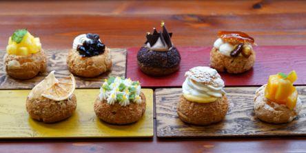 京都のかわいすぎる手毬シュークリームで#おうちカフェがランクアップ!