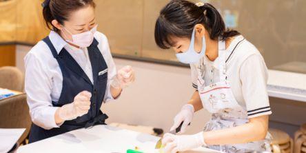 #レシピがわかる!ミルフィーユポテトグラタン&プチパン ~ABCクッキングスタジオの500円体験レッスン~