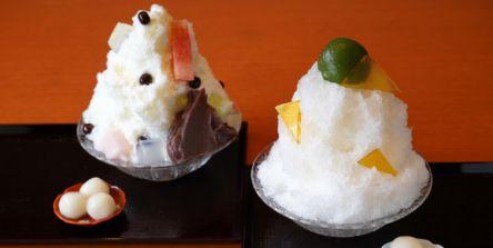 京都の名店のあんみつが絶品かき氷に! あんみつはお取り寄せも