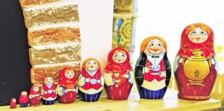 【ウラジオストク】マトリョーシカにチェブラーシカ!定番ロシア雑貨たち