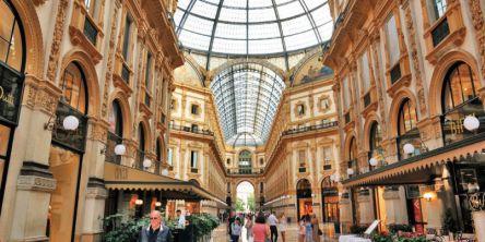 """美しいショッピングアーケード!ミラノの観光名所""""ガレリア""""散策のすすめ"""