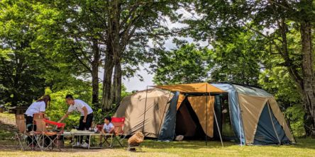 秋田県のおすすめキャンプ場&バーベキュー場9選!おしゃれなグランピング施設も