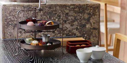 老舗お茶やさんの絶品メニューが揃った、お茶×海苔の和アフタヌーンティー