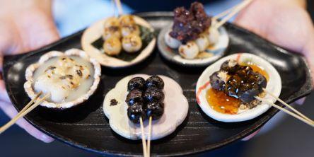 小さくてかわいいお豆サイズのお団子!京都の甘味処でみつけた直径12ミリの幸せ