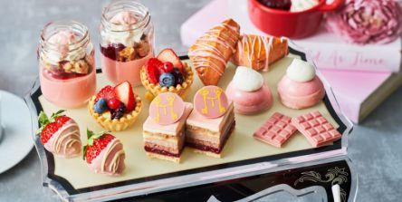 ピンクが映える宝石箱!『ルビーチョコレート&ベリー アフタヌーンティー』が新登場