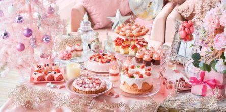 【ヒルトン東京お台場】ピンクづくしのストロベリーデザートビュッフェが可愛すぎ!