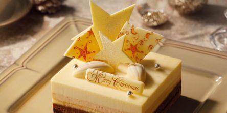 """お取り寄せで""""星がきらめくクリスマスケーキ""""を味わう「VANILLABEANS」オンライン限定ケーキ販売開始"""